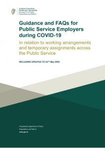 thumbnail of Guidance and FAQS for Public Service Employers during COVID19 final 22 May 2020