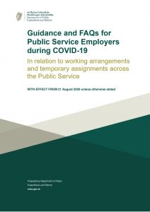 thumbnail of Guidance and FAQS for Public Service Employers during COVID19_for issue 24 Aug_FINAL