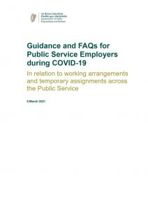 thumbnail of Updated (8 March 2021) Guidance on working arrangements during COVID-19 for the Civil and Public Service